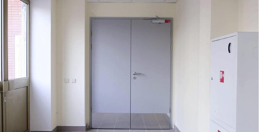 Какой должна быть противопожарная дверь?