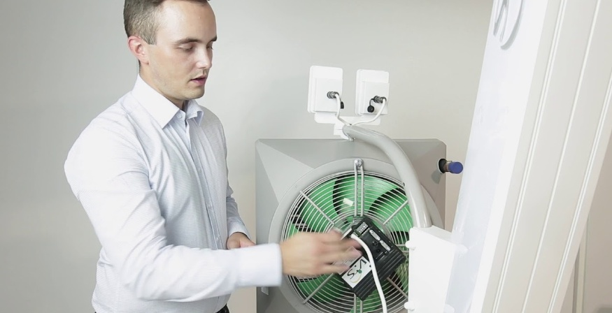 обогрев домов и производственных помещений тепловентиляторами