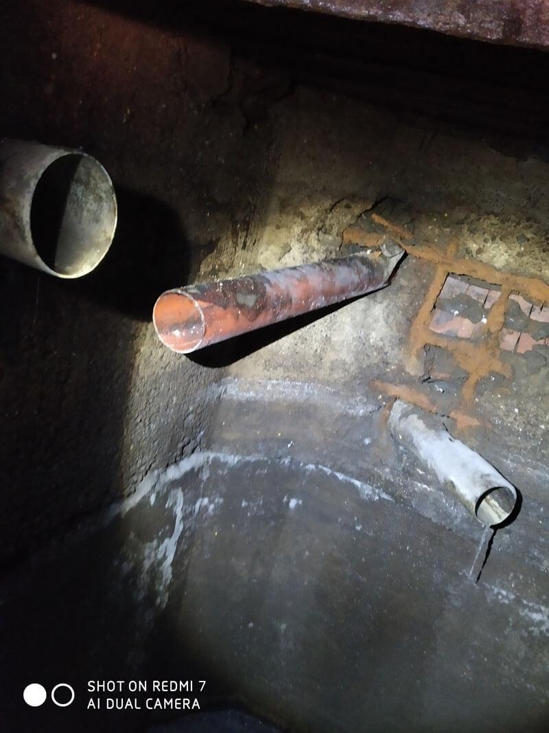 Видеоинспекция канализационных труб #5245