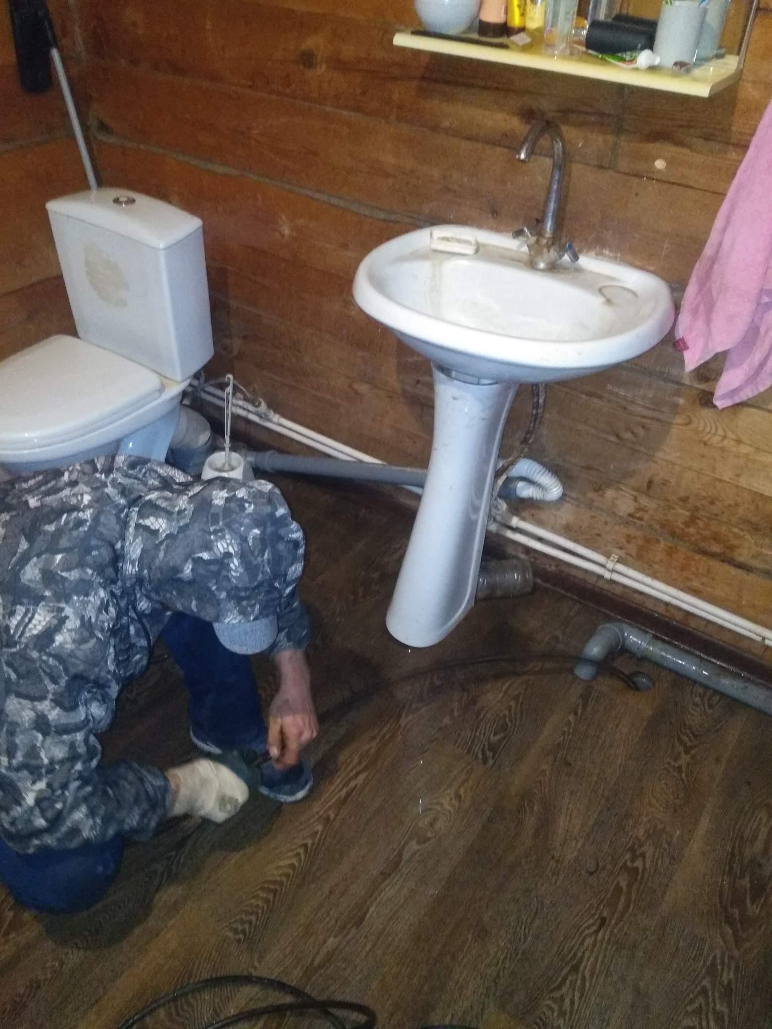 Прочистка канализации в частном доме #5286